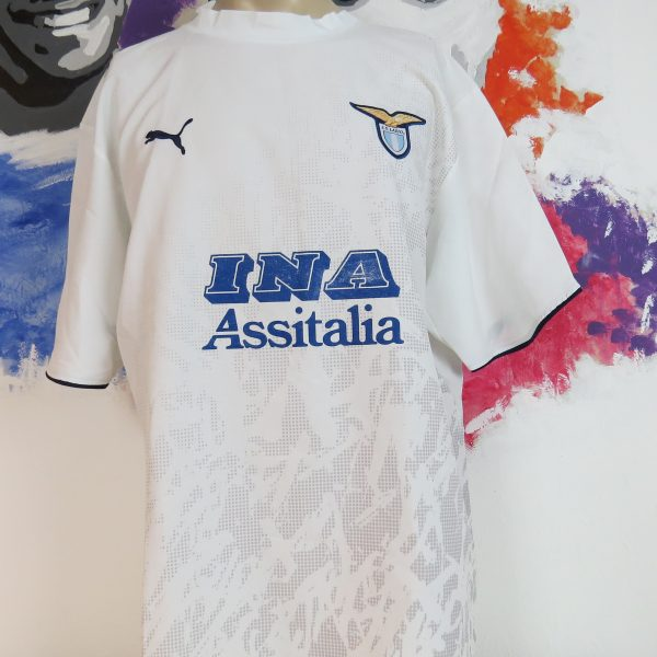 Lazio Roma 2006-07 away shirt Puma soccer jersey #10 size XXL (1)