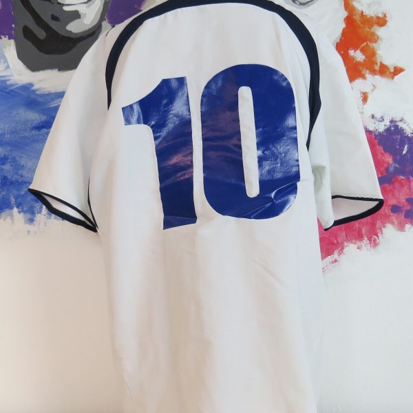Lazio Roma 2006-07 away shirt Puma soccer jersey #10 size XXL (2)