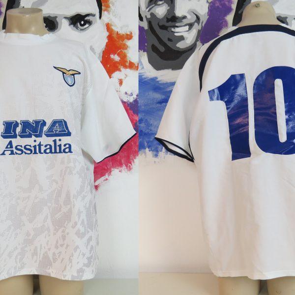 Lazio Roma 2006-07 away shirt Puma soccer jersey #10 size XXL