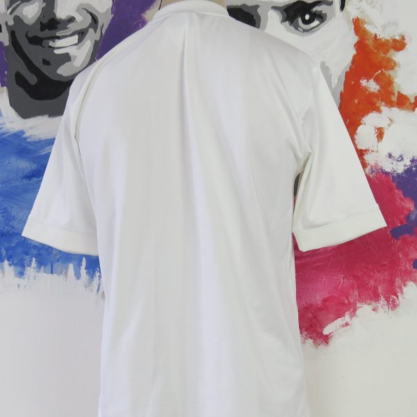 Manchester United white gold training shirt Nike jersey size M (2)