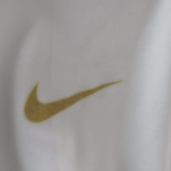 Manchester United white gold training shirt Nike jersey size M (3)