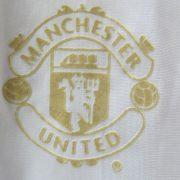 Manchester United white gold training shirt Nike jersey size M (4)