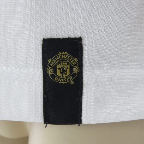 Manchester United white gold training shirt Nike jersey size M (6)