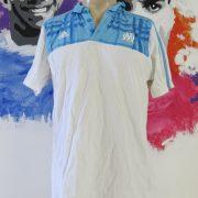 Olympique Marseille 2010-11 polo shirt adidas presentation jersey size L (1)