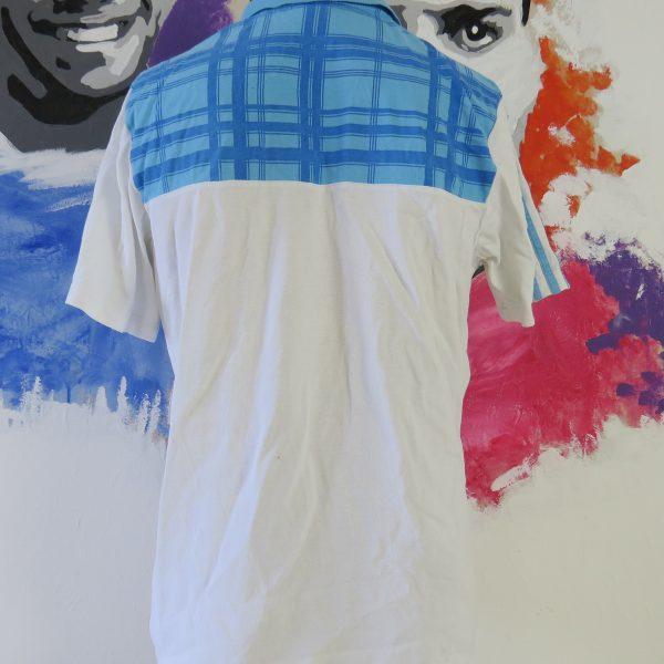 Olympique Marseille 2010-11 polo shirt adidas presentation jersey size L (3)
