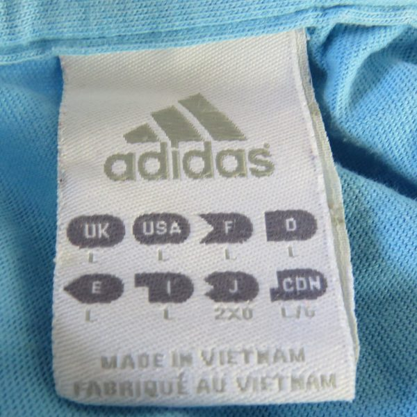 Olympique Marseille 2010-11 polo shirt adidas presentation jersey size L (4)