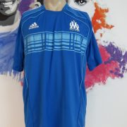 Olympique Marseille 2010-11 training shirt adidas soccer jersey size L (1)