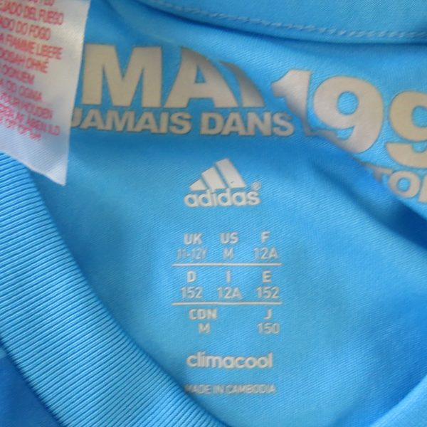Olympique Marseille 2013-14 away shirt adidas size Boys M 11-12Y 152 (4)