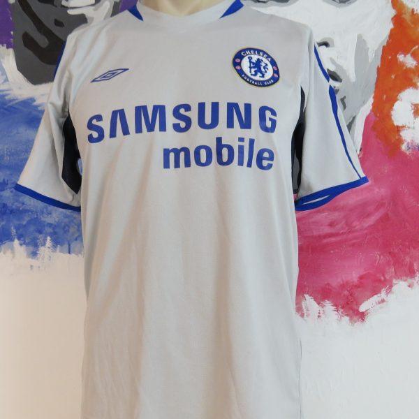 size 40 c06d0 6da19 Vintage Chelsea 2005-06 training shirt Umbro soccer jersey size S