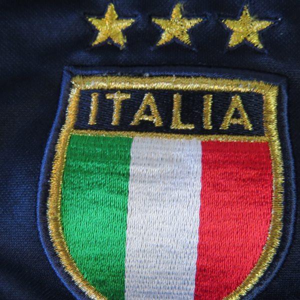 Vintage Italy 2003-04 ls training shirt Puma Italia soccer jersey size L (5)