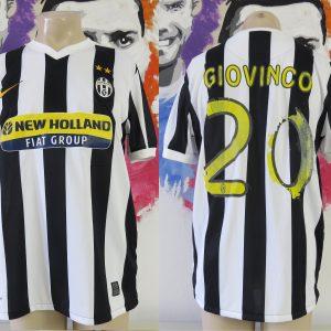 8422eb727 Vintage Juventus 2009-10 home shirt Nike soccer jersey Giovinco 20 size L