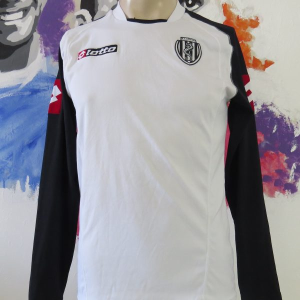 AC Cesena 2005-06 ls home shirt Lotto soccer jersey size S (1)