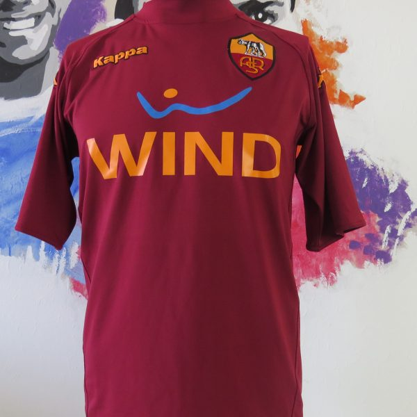 new arrival 79707 e3ac5 AS Roma 2010-11 training shirt Serie A Kappa Gara tight fitting size M