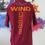 AS Roma 2010-11 training shirt Serie A Kappa Gara tight fitting size M (2)