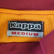 AS Roma 2010-11 training shirt Serie A Kappa Gara tight fitting size M (3)