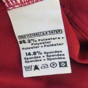 AS Roma 2010-11 training shirt Serie A Kappa Gara tight fitting size M (4)