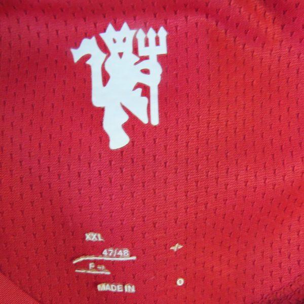 Manchester United 2007-09 home shirt Nike soccer jersey Berbatov 9 size XXL (3)