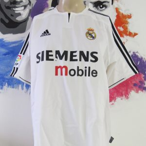 190380aa0 Real Madrid 2003-04 home shirt adidas soccer jersey size L
