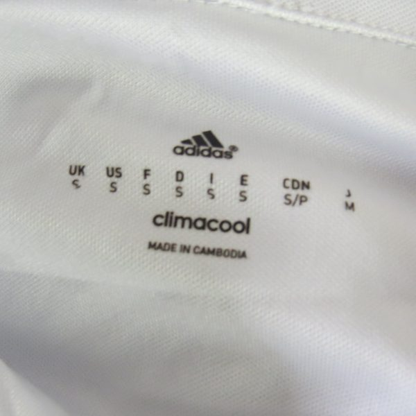 Real Madrid 2016-17 LFP home shirt adidas soccer jersey size S (2)
