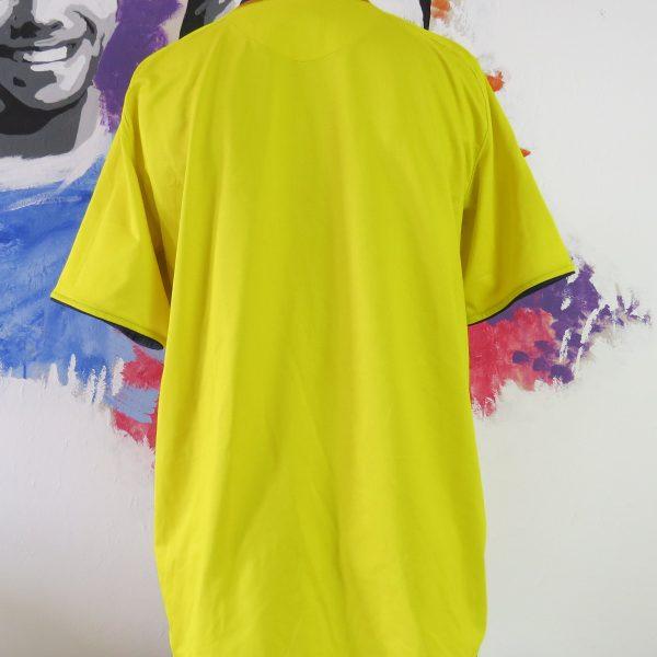 Vintage Barcelona 2008-10 yellow away shirt Nike soccer jersey size L (5)