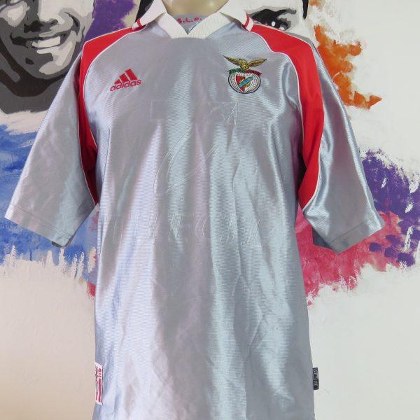 new concept e8007 31048 Vintage Benfica 1999-00 away shirt Adidas soccer jersey size S rare