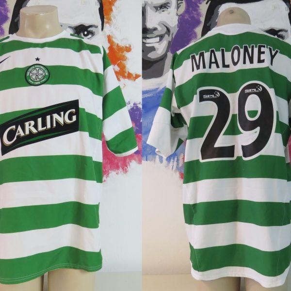 lowest price 88ffd 3e9f8 Vintage Celtic 2005-07 home shirt Nike soccer jersey Maloney 29 size L