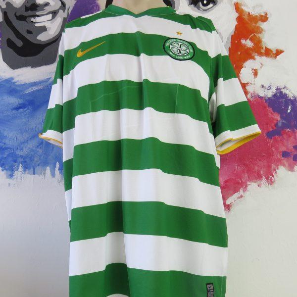 Vintage Celtic 2008-10 home shirt Nike soccer jersey size XL (1)