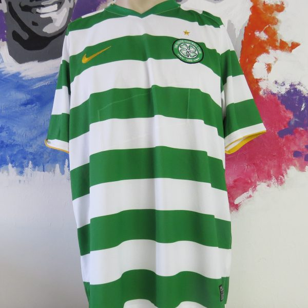 Vintage Celtic 2008-10 home shirt Nike soccer jersey size XL (5)