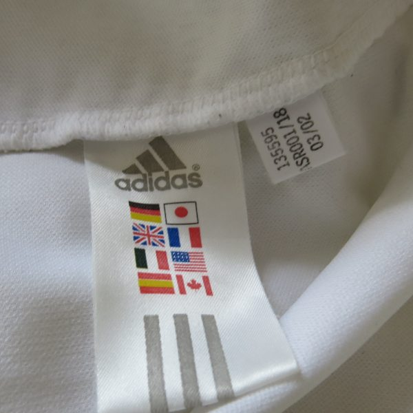 Bayern Munich 2002-03 away shirt adidas soccer jersey Ze Roberto #11 size L (4)