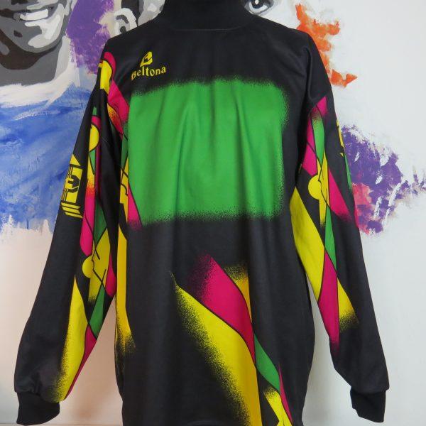 Beltona retro ls shirt 1980ies art style padded GK soccer jersey size XXL (1)
