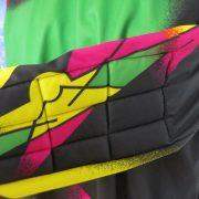 Beltona retro ls shirt 1980ies art style padded GK soccer jersey size XXL (4)