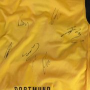 Borussia Dortmund 2007-08 home shirt Nike jersey size S 7 signatures (1)