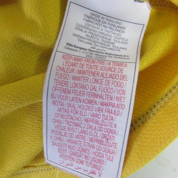 Borussia Dortmund 2007-08 home shirt Nike jersey size S 7 signatures (2)