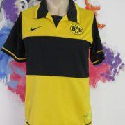 Borussia Dortmund 2007-08 home shirt Nike jersey size S 7 signatures (5)