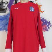 England 2010 2011 ls away shirt Umbro jersey size 44 L World Cup 2010 (1)