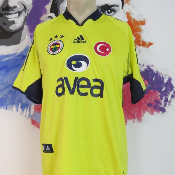 Fenerbahce 2004-05 away shirt adidas soccer jersey size M (1)