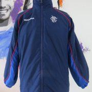 Glasgow Rangers 2002-03 tracksuit jacket shirt Diadora size LB 13-14Y (1)