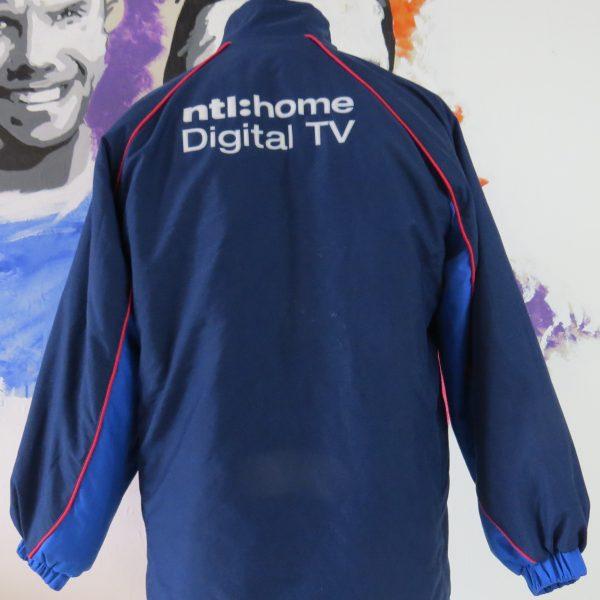 Glasgow Rangers 2002-03 tracksuit jacket shirt Diadora size LB 13-14Y (2)