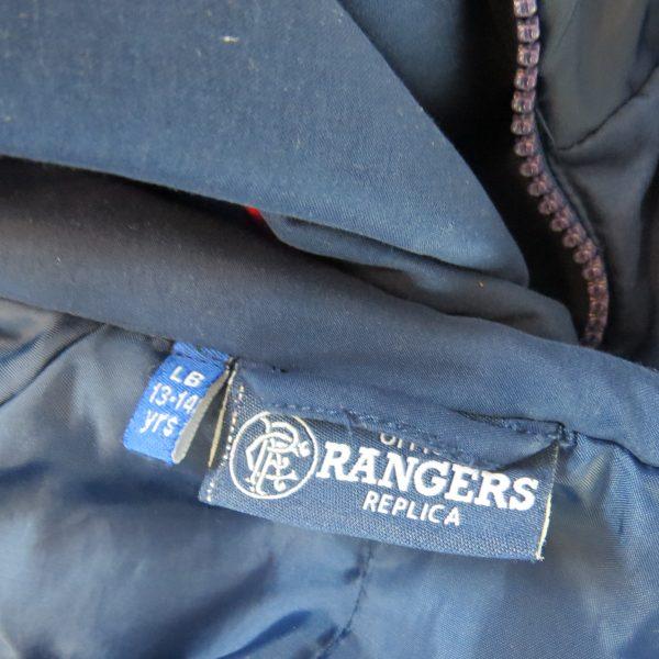 Glasgow Rangers 2002-03 tracksuit jacket shirt Diadora size LB 13-14Y (4)