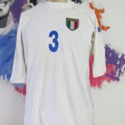 Italy 2001-03 away shirt Kappa Maldini #3 signed size XL (fits like L) Italia jersey (2)