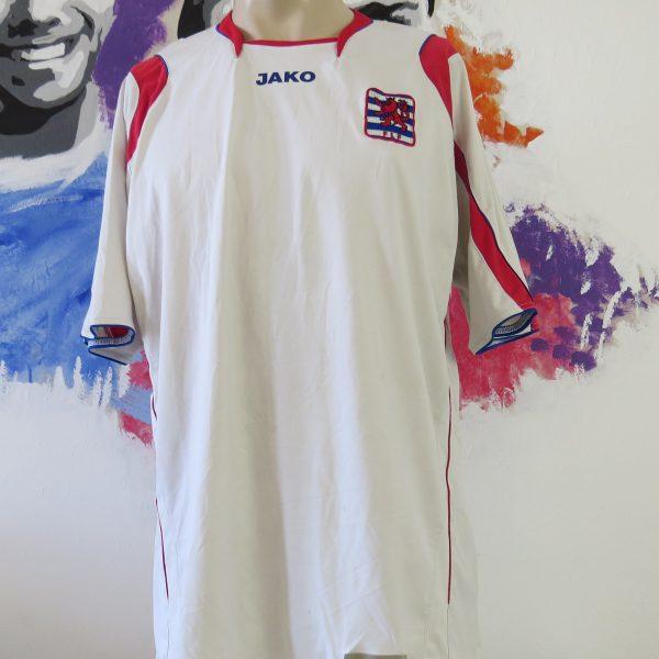 Luxembourg 2008-09 home shirt JAKO soccer jersey size XXL (1)
