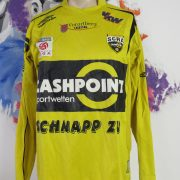 Match worn issue Rheindorf Altach home shirt BL Jagne 11 size L Umbro (2)