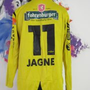 Match worn issue Rheindorf Altach home shirt BL Jagne 11 size L Umbro (5)