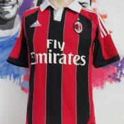 Vintage AC Milan 2012 2013 home shirt adidas soccer jersey size S (1)