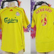 Vintage Liverpool 2006-07 away shirt adidas Reds Gerrard 8 jersey size M (1)