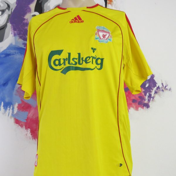 Vintage Liverpool 2006-07 away shirt adidas Reds Gerrard 8 jersey size M (2)