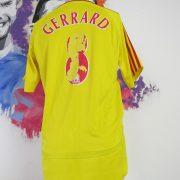 Vintage Liverpool 2006-07 away shirt adidas Reds Gerrard 8 jersey size M (3)