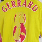 Vintage Liverpool 2006-07 away shirt adidas Reds Gerrard 8 jersey size M (4)