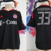 Bayern Munich 2004-05 Champions league shirt adidas Guerrero 33 size L