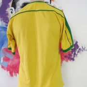 Brazil 1998-00 home shirt NIKE soccer jersey size boys XL World Cup '98 (1)